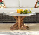 Pottery Barn Abbott Round Coffee Table
