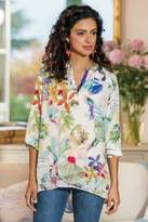 Soft Surroundings Tropic Breeze Pullover