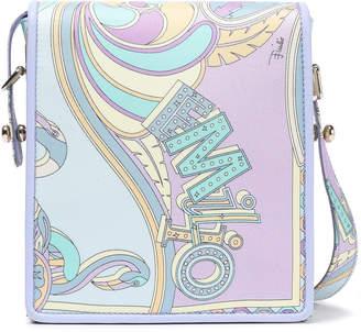 Emilio Pucci Printed Twill Shoulder Bag