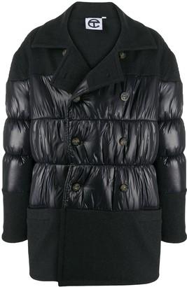 Telfar Panelled Padded Coat