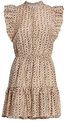 Joie Krystina C Zigzag Dress