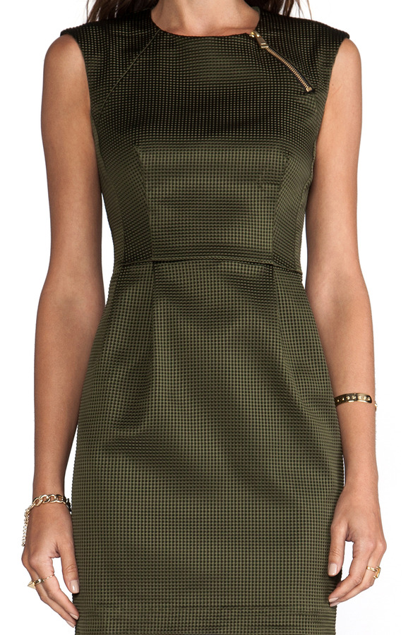 Nanette Lepore Runway Martian Woven Dress