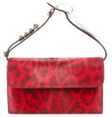 Valentino Red And Rubin Flap Bag