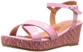 KensieGirl KG31171 Girls Tribal Wedge Sandals (Little Kid/Big Kid)