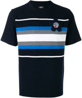 Fendi striped T-shirt - men - Cotton/Polyamide/Polyester/Viscose - 48