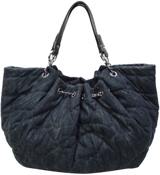 Chanel Blue Denim Tote Bag