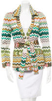 Missoni Belted Patterned Jacket w/ Tags