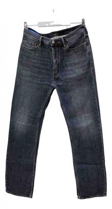 Acne Studios Grey Cotton Jeans