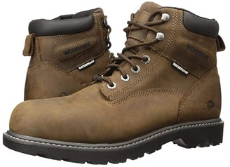 Wolverine Floorhand Steel Toe Puncture Resistant 6 Boot (Black) Men's Work Lace-up Boots