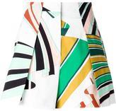 Emilio Pucci printed A-line shorts
