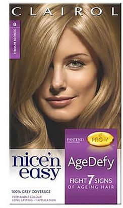 Clairol Nice 'N Easy Age Defy 8 Medium Blonde Hair Dye