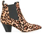 Marc Jacobs 'Kim' Chelsea boots - women - Leather/Polyurethane/Calf Hair - 38