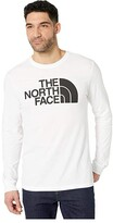 The North Face Long Sleeve Half Dome Tee (TNF White) Men's Clothing