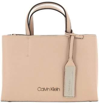 Calvin Klein Handbag Medium Sided Bag In Textured Eco-leather With Shoulder Strap