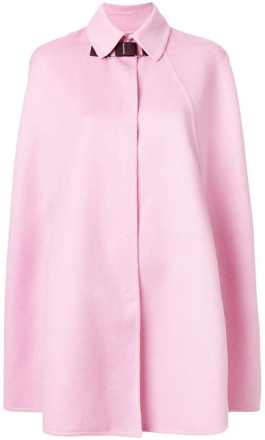 Versace cape coat