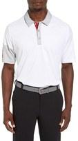 adidas Men's Colorblock Climachill Golf Polo