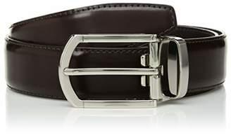 Bugatchi Men's Classic Fashion Solid Leather Belt