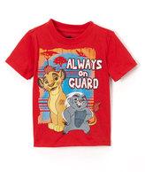 Children's Apparel Network The Lion King Orange 'Always On Guard' Tee - Toddler & Boys