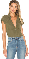 Paige Mila Shirt in Olive