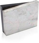 Nathalie Trad Mother of Pearl Shell Clutch