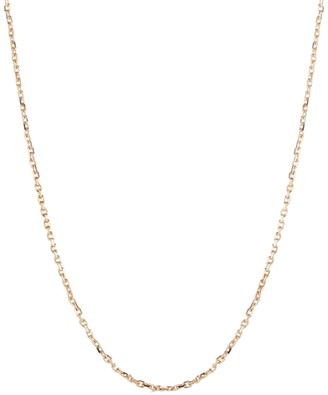 Walters Faith 2.1mm Medium Chain Link Rose Gold Necklace