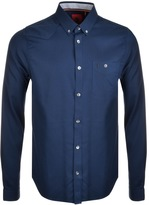 Luke 1977 Archie Keyte Long Sleeve Shirt Navy