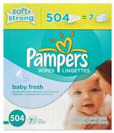Pampers Baby Fresh Wipes 504-Count Refill