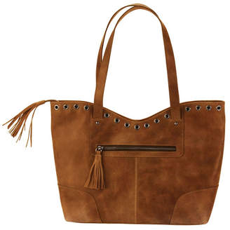 Kalencom Hadaki Grommet Leather Tote