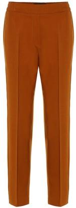 Etro Stretch-cotton straight pants
