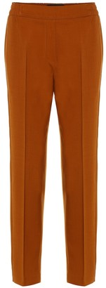 Etro Stretch-cotton straight pants