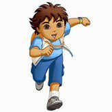 Nickelodeon Room Mates Favorite Characters 19 Piece Go Diego Go! Giant Wall Decal Set