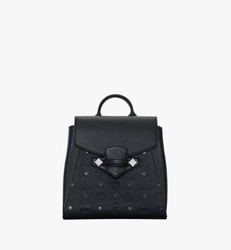 MCM Essential Backpack in Monogram Leather