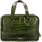 Prada Alligator Handle Bag