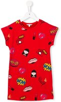 Little Marc Jacobs printed T-shirt dress