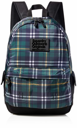 Superdry Checked Montana Mens Backpack