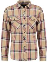 Brixton Bowery Shirt Tan Plaid