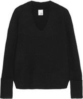 Iris and Ink Ribbed cashmere sweater