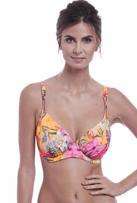 Fantasie Swimwear Anguilla Gathered Full Cup Bikini Top Saffron 6580 40G