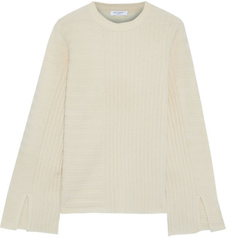 Equipment Emmaline Ribbed Wool And Cashmere-blend Sweater