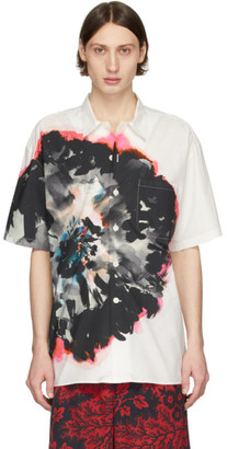 Alexander McQueen White Mix Short Sleeve Shirt