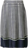 Tory Burch pleated skirt - women - Silk - 2