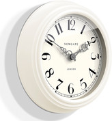 Newgate Clocks - The Dormitory Wall Clock - Linen White