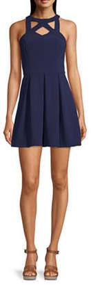 Speechless Juniors Sleeveless Fit & Flare Dress