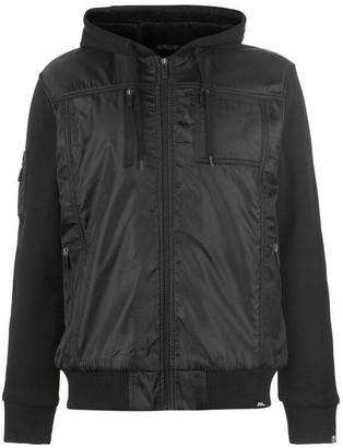 No Fear Lined Zip Jacket Mens