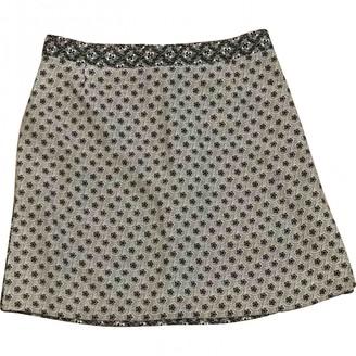 Louis Vuitton Grey Silk Skirt for Women