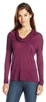 LAmade Women's Micromodal Mia Cowl Neck Top