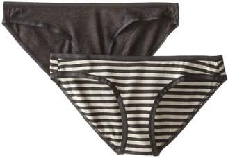 Pact Women's Organic Cotton Bikini Brief 2-Pack