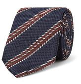 Ermenegildo Zegna - 7cm Striped Silk-jacquard Tie