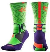 Nike Men's KD Hyper Elite Basketball Crew Socks- Strike