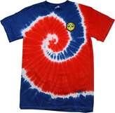 Buy Cool Shirts Yoga Buddha Eyes Patch (Pocket Print) Patriotic Tie Dye